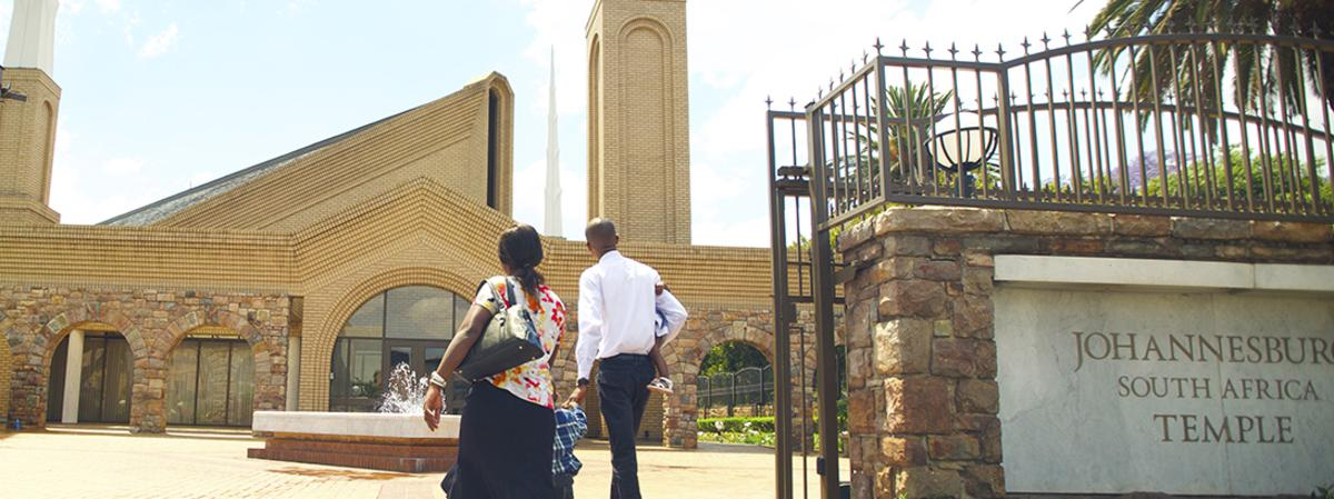 GOING TO THE JOHANNESBURG TEMPLE
